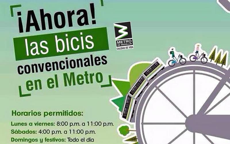 intermodalidad metro y bicicleta