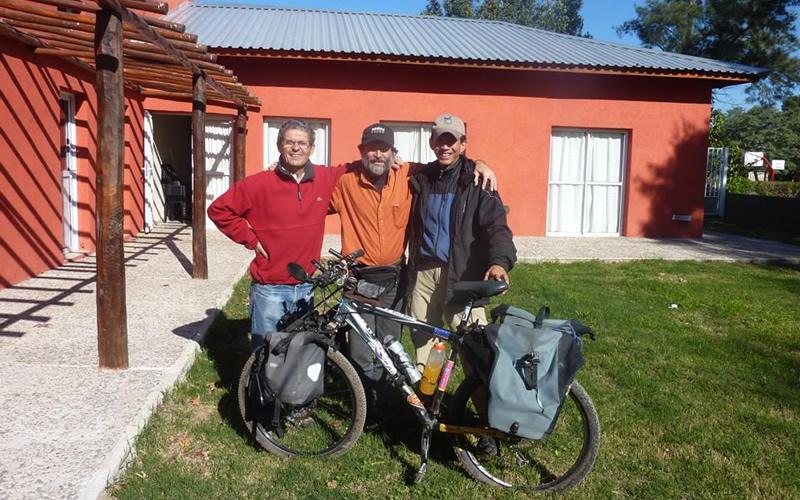 cicloturismo argentina camping en hernando