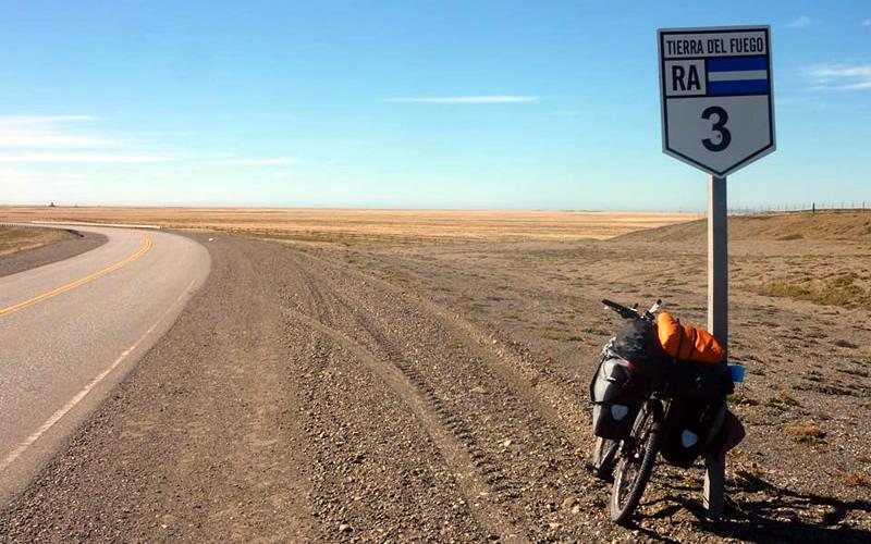 cicloturismo argentina rio gallegos