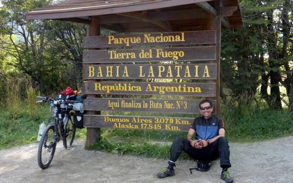 de colombia a argentina en bicicleta