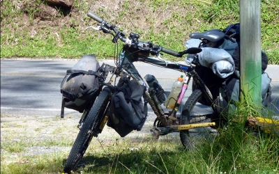 bicicleta para viajar