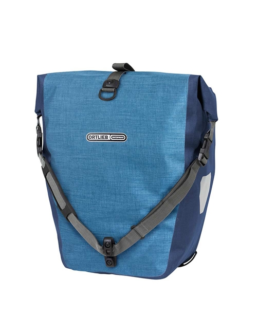 Alforja Ortlieb Back Roller Plus - Denim Azul Acero