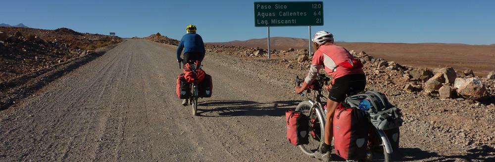 Hugh y Pauline Simons - Paso Sico Chile