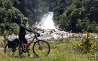 bike touring Colombia