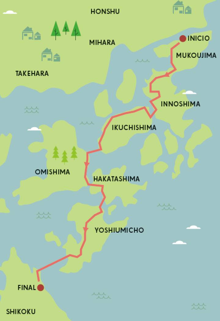 Japon en bicicleta